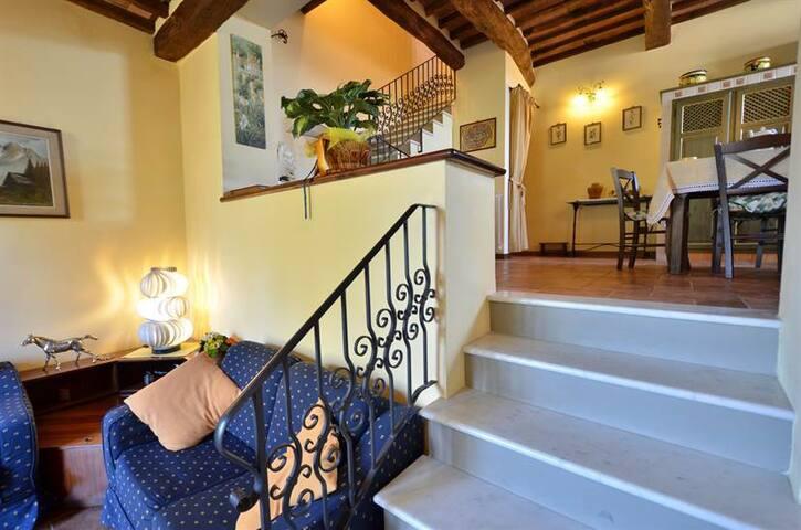 charming farmhouse on Tuscan hills - Camaiore - Casa