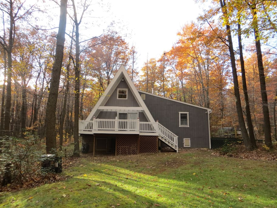 Cabin at raystown lake cabins for rent in huntingdon for Lake cabin rentals pennsylvania