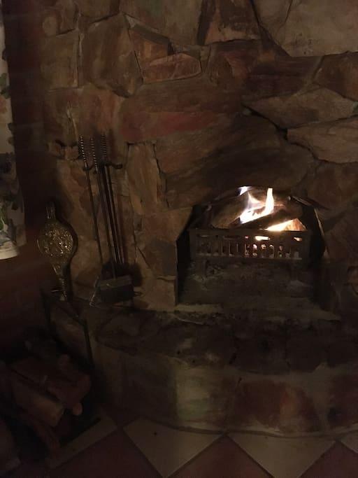 Rockin Fireplace