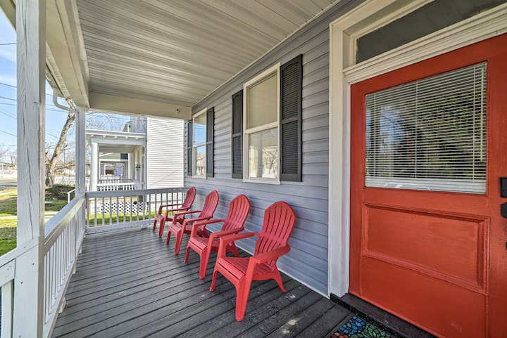 Newly Renovated Historic Home < 2 Mi to Downtown!