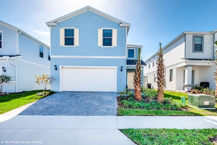 Beautiful Brand New 5 Bed With pool and Spa (2481