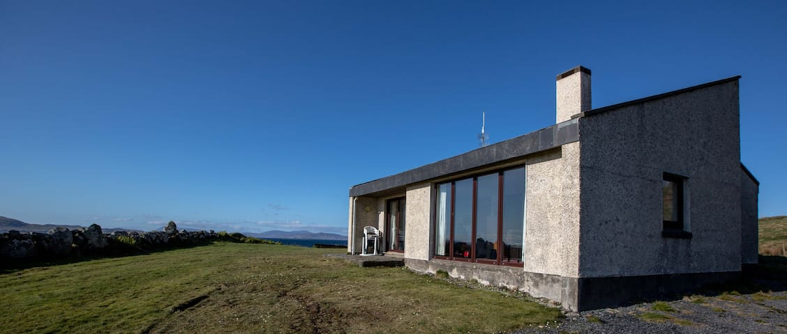 Our home remote & by the sea, off the atlantic way