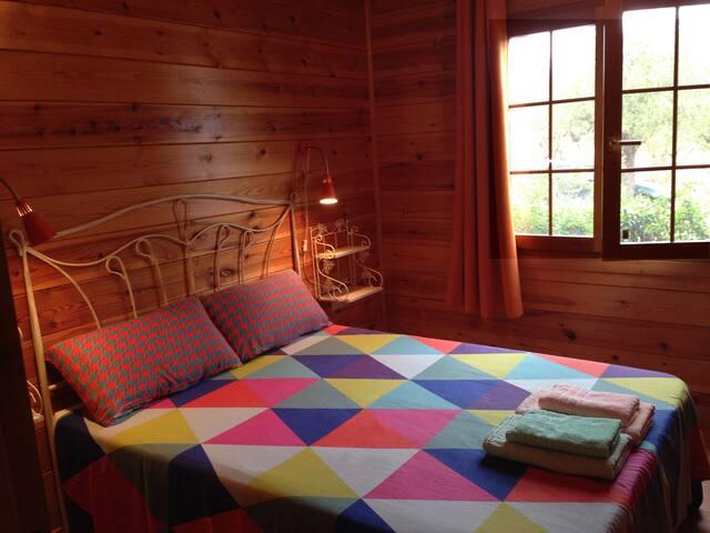 La segunda habitación. Con espacio para una cuna.