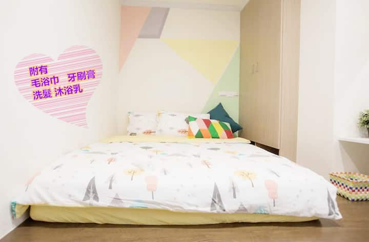 10% off every day,1~2 people room (3B),2~4 floor