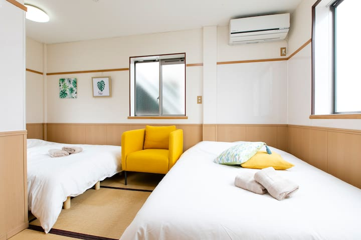 Big apartment For family in EAST TOKYO