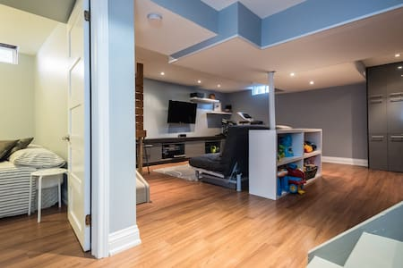 Private Apt + King-Bed + Kids Friendly - Vaughan - Ev