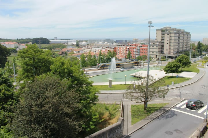 Ocean view on tram line to Porto - Matosinhos - Apartment