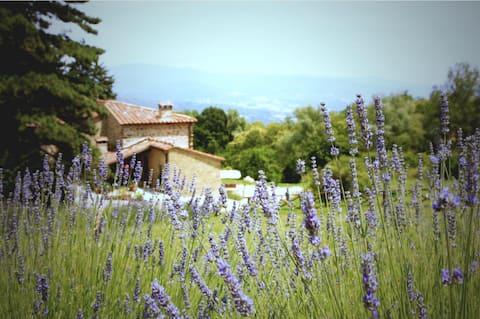 Remote Tuscan Farmhouse