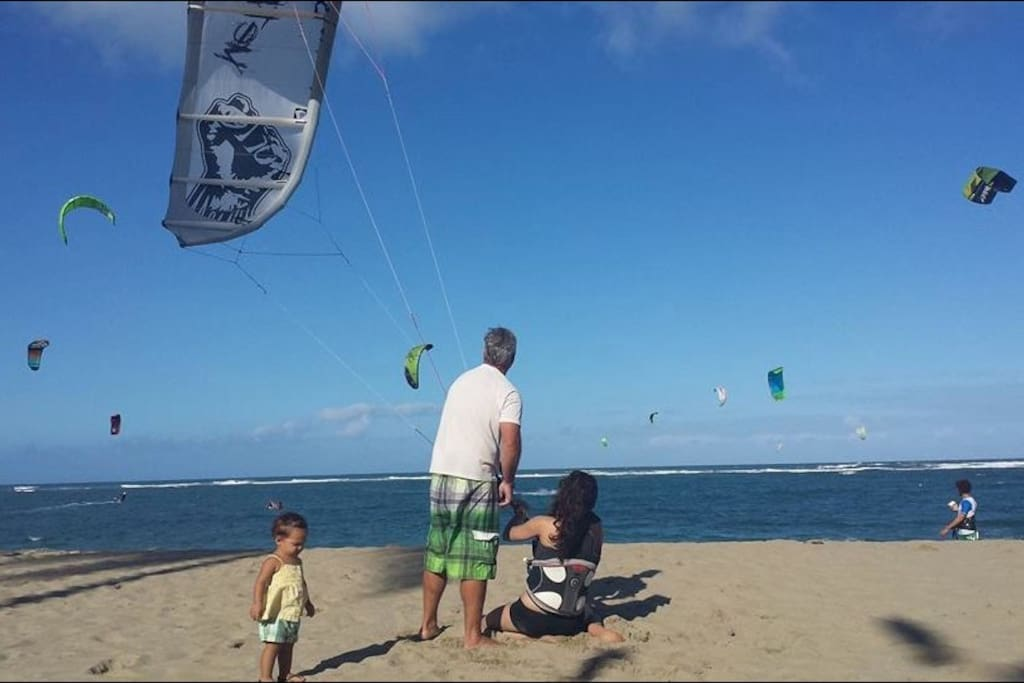 Learning the KITEs Method on Kite Beach cabarete