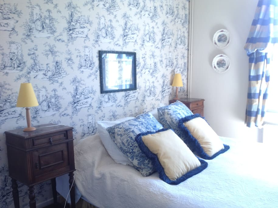 each bedroom will make you relax after a fabulous day in the french sun