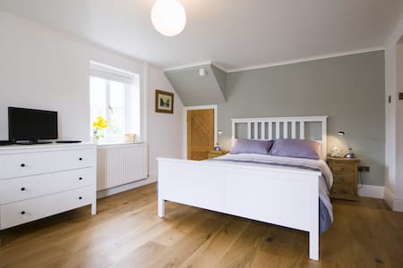 Glanpant. Private double room - Bwlch