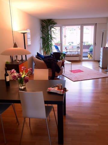 Tolle 2.5 Zimmerwohnung in coolem Kiez bahnhofsnah - Bern - Leilighet
