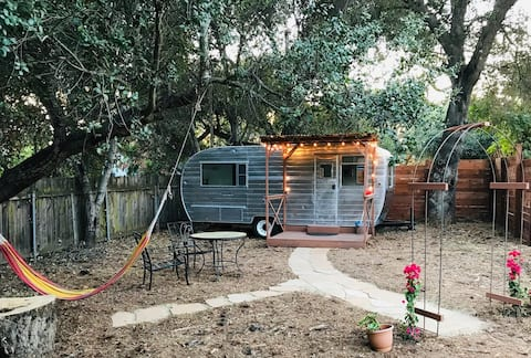 Ojai Restored Retro Trailer on a Ranch!