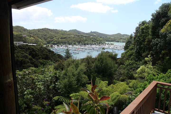 Marina views, Kiwis and beaches at Doves Bay
