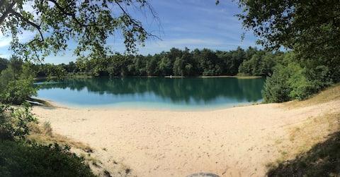 Wunderschönes Ferienhaus an zauberhaftem See