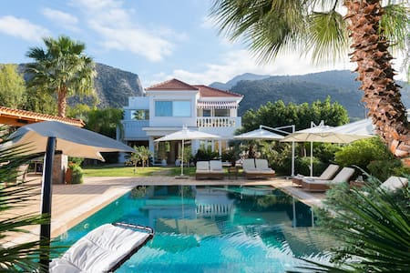 Private villa with heated pool  and a large garden - Sisi