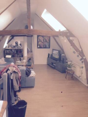 Chambre individuelle à louer - Villeneuve-d'Ascq - Apartment