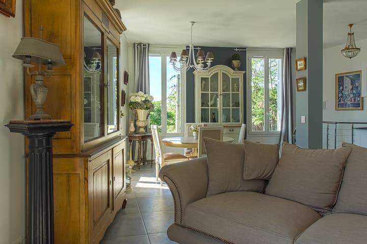 Nice centre maison avec jardin - นีช - บ้าน