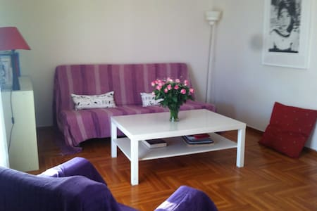 Nice terrace flat with fantastic view - Athens