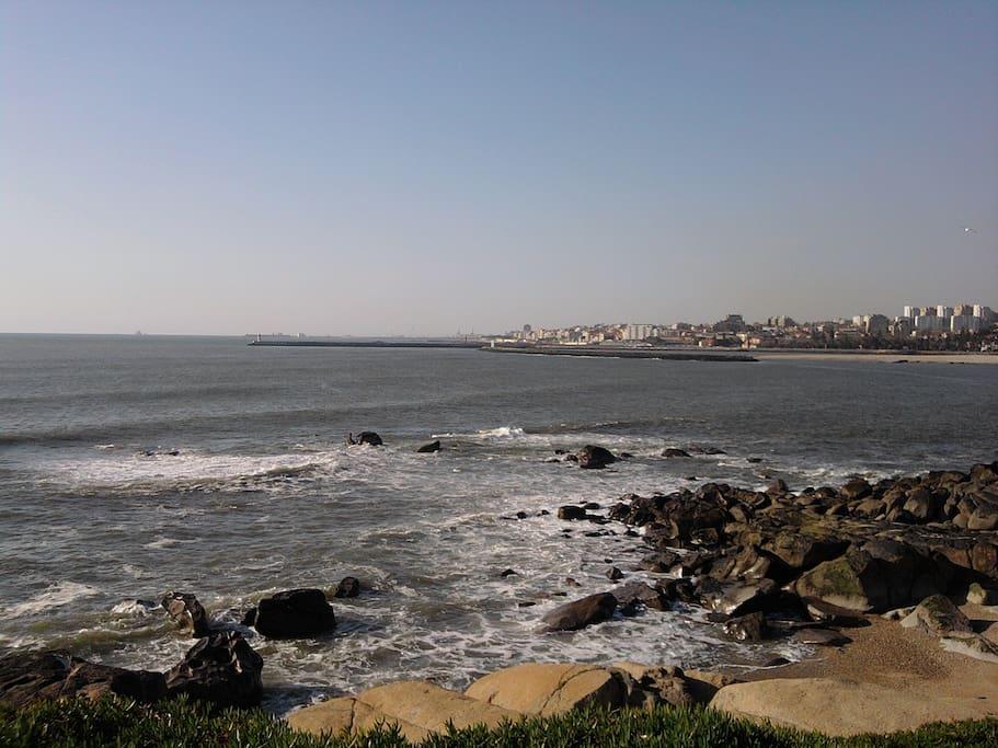 15 Km de praias para belos passeios