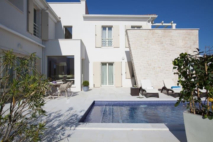 Beautiful Villa Candida, in Istria, with a Pool
