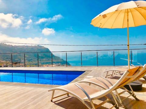 Villa Bisa Atlantic View ,vyhřívaný bazén