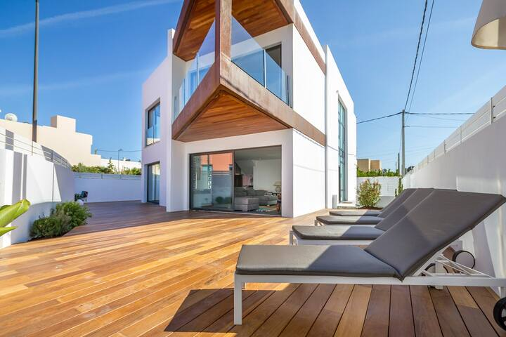 Can Holly-illa plana (Ibiza Marina Botafoch) 12PAX - Eivissa - Villa
