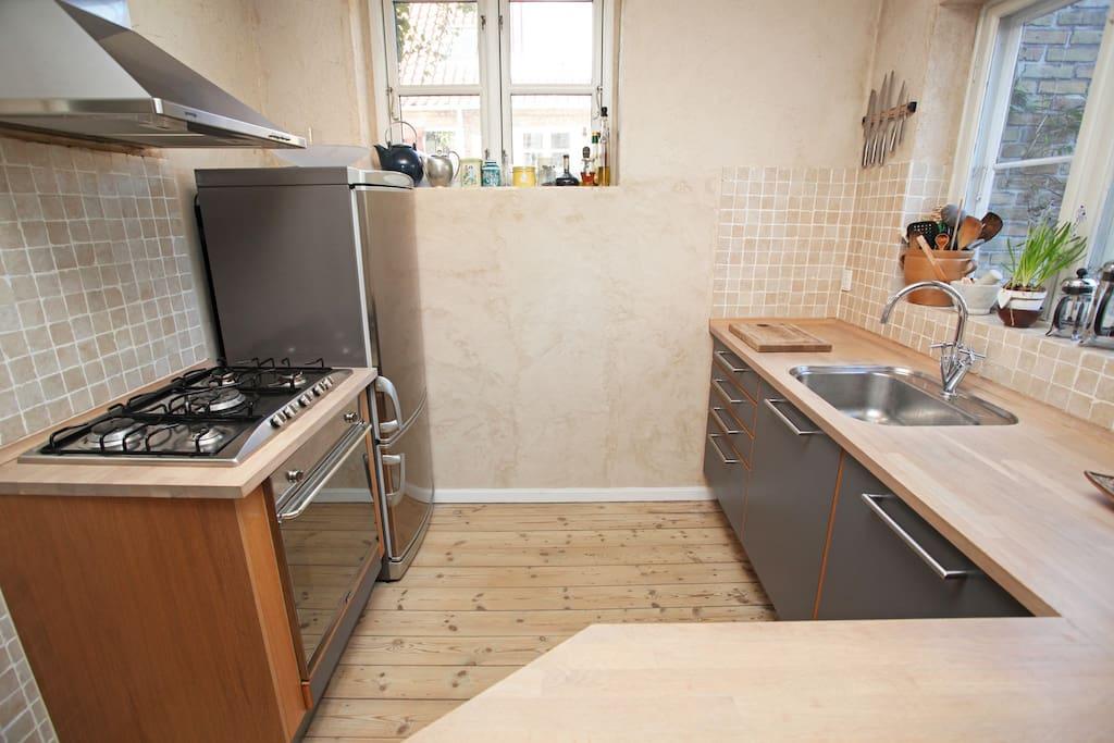 køkken med plads til at lave det, du har brug for.