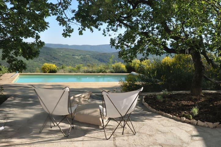 Maison de vacances Lubéron Provence - Sainte-Croix-à-Lauze - Huis
