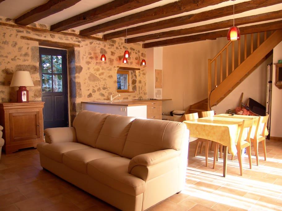Maison en pierre du 18eme piscine casas para alugar em for Piscine 18eme