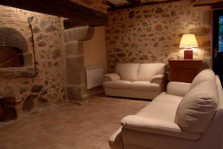 Maison en pierre du 18eme, piscine - Augignac