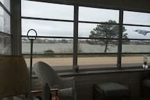 Porch View of Lake - Property on Lake is ours / yours for your fishing, boating priveledges