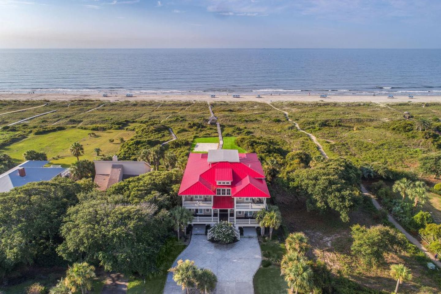 Luxurious Oceanfront With Pool - 3502 Palm Blvd