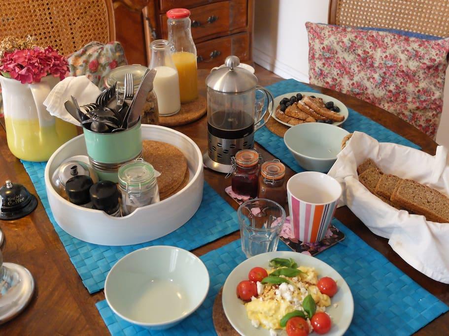 Breakfast €5 Extra per person