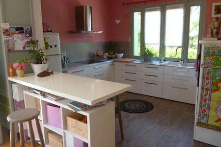 Belle maison spacieuse et lumineuse - Saint-Jean-de-Niost