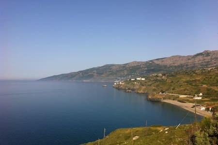 Cozy Apartment with Great Seaview,Kampos,Ikaria