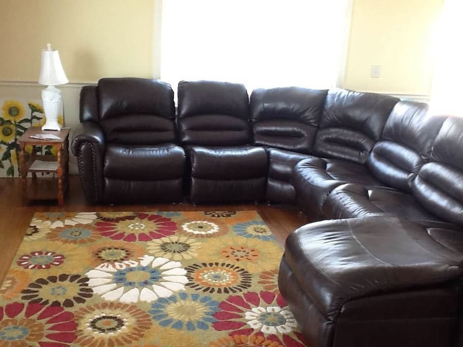 Big spacious living room - plenty of room for the whole family.
