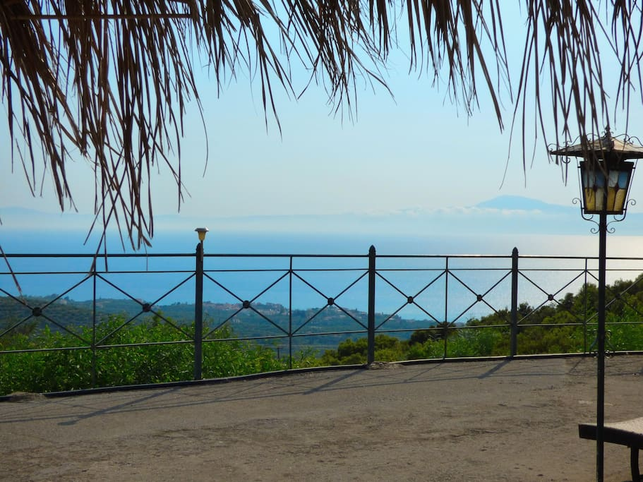 View to messinian gulf
