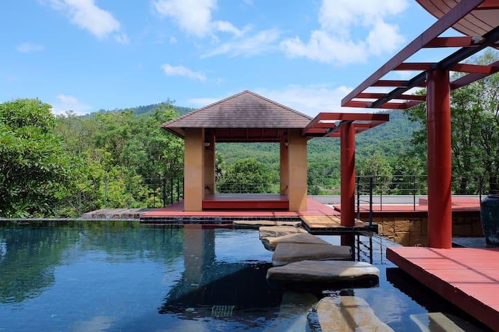 Monlada Hilltop pool villa residence