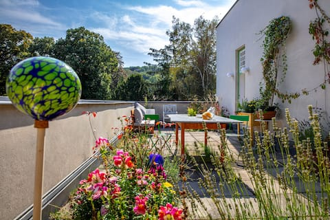 Historische Loos Villa, Eleganz & Grosse Terrasse