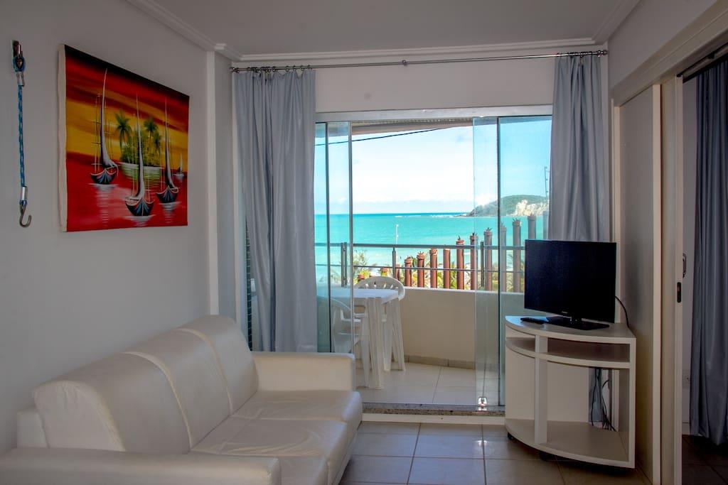 Apartamento com vista da praia de Ponta Negra