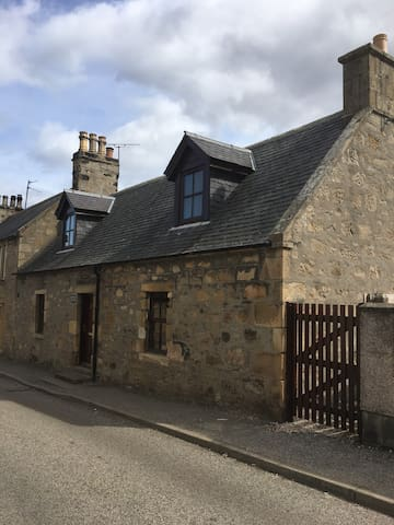 Traditional Cottage in Highland Town