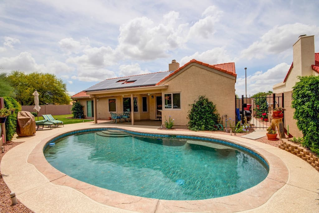 Amazing scottsdale home with heated pool houses for rent in scottsdale arizona united states for Houses to rent with swimming pool uk
