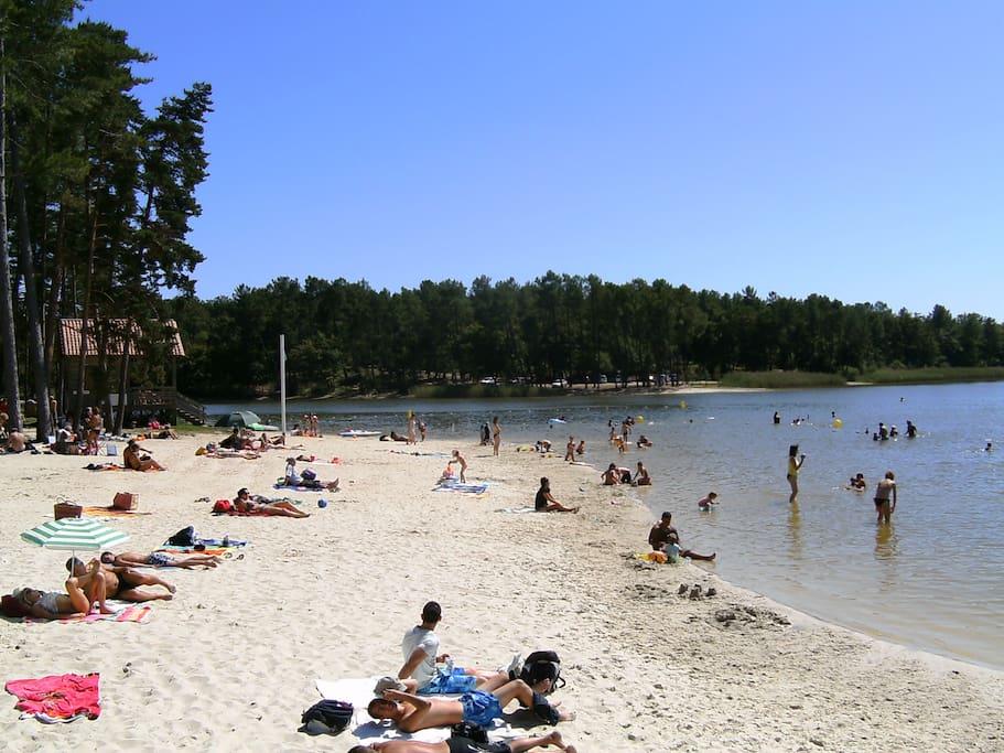 local beach 15 mins