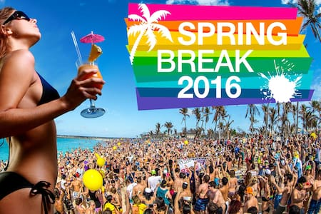 SPRING BREAK 2016 for 14 persons
