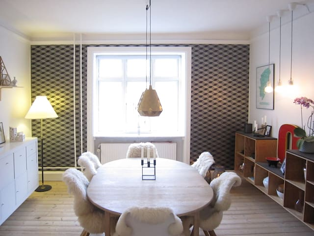 Cozy and central apartment in Copenhagen V - Kopenhagen