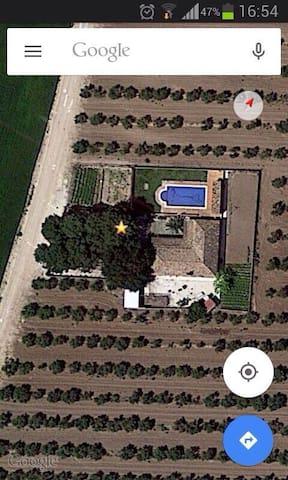 Alquiler casa de campo para grupos en Écija - Sevilla - Dům