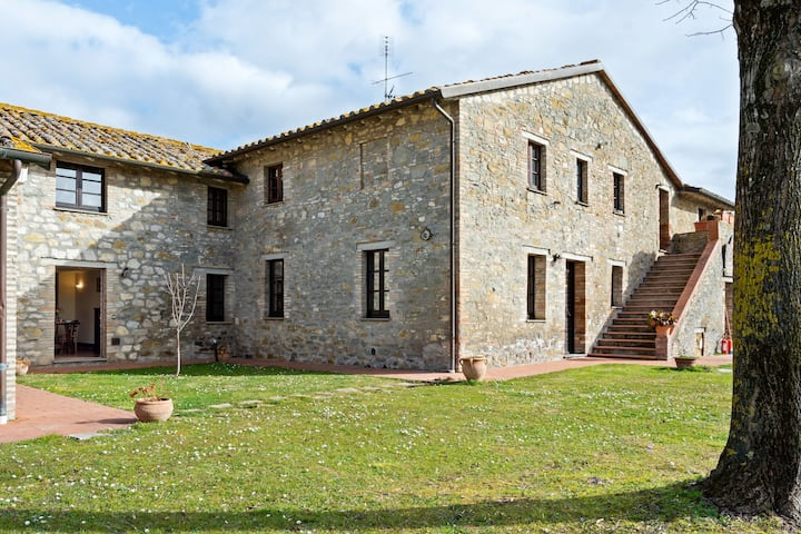 Vintage Apartment in Magione with Swimming Pool