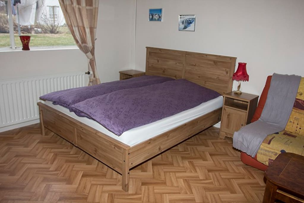 The new bed with IQ care mattress.