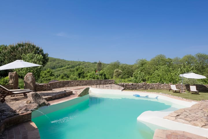 Wonderful Villa + Pool near Siena - La Cetina - Willa